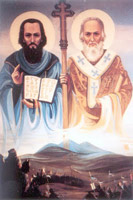 St Cyril and Methodius Biography ss Cyril and Methodius Church Life