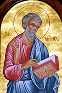 St Matthews Church Biography, Catholic Saint Matthew the Apostle